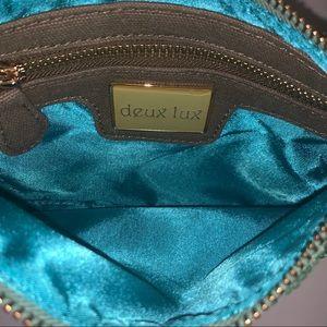 Deux Lux Bags - NWOT DE LUX wristlet sparkly and fun!